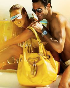 9ed0e87607da Michael Kors · amazing color and the guy is the best accessory in the photo!