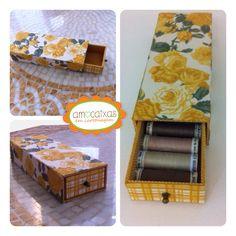 Caixa Retros www.facebook.com/amocaixasemcartonagem