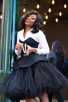 When I got this tulle skirt years ago, I felt like a lucky ballerina and could not wait to wear the skirt. Today, I still love my tulle skirt and I have styled it in the past… Diy Tulle Skirt, Tulle Tutu, Peplum Top Outfits, Cute Outfits, African Women, African Fashion, African Style, Only Fashion, Love Fashion
