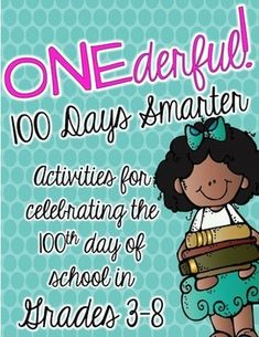 Looking for the right way to celebrate 100 days in the upper elementary classroom? 5th Grade Writing, 6th Grade Ela, Fourth Grade Math, 4th Grade Reading, Third Grade, 100 Days Of School, School Fun, School Stuff, School Ideas