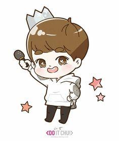 D.O chibi in lost planet EXO Exo Stickers, Character Art, Character Design, Chanyeol Baekhyun, Exo Fan Art, Bts Chibi, Kpop Fanart, Art Music, Cute Drawings