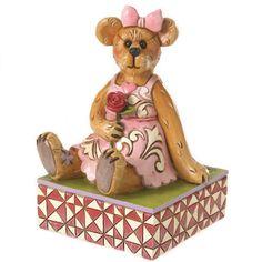 boyds bears | Bear Holding Rose Figurine Boyds Bears by Jim Shore