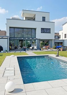 Moderne Pools, Outdoor Decor, Home Decor, Garden Modern, Home Kitchens, Interior Design, Home Interior Design, Home Decoration, Decoration Home