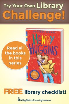 Challenge your child to read all the books in the Henry Huggins chapter book series! Henry Huggins, Beverly Cleary, Free Library, Classic Series, Reading Challenge, Chapter Books, Book Series, Your Child, Children