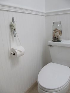 Nautical Cleat as DIY TP Roll Holder, Remodelista - AMAZING!