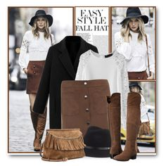 Fall Over the Knee Boots & Fedora Hat by brendariley-1