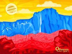 Resultado de imagen para diseños de tricolor de la bandera Venezuela y estado tachira