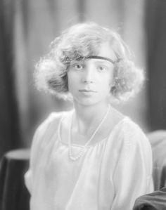 Infante Béatrice de Bourbon (1909-2002) fille du roi Alphonse XIII et de la reine Victoria-Eugénie