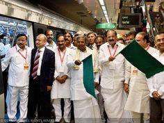 South India's first underground metro flagged off!!!