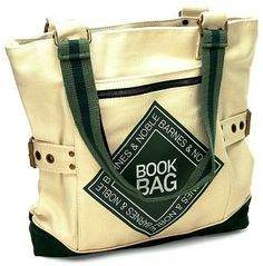 Cool book bags make great gifts!  This one is from Barnes & Noble ...