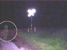 Pic of phenomenon manifesting in front of a railroad crossing just south of san Antonio, Texas -it is said to be the site of a deadly accident and paranormal activity - submitted by Andy & Debi Chesney Real Ghost Pictures, Ghost Images, Ghost Pics, Creepy Kids, Scary, Creepy Stuff, Creepy Things, Ghost Caught On Camera, Photos Google