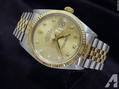 Rolex Datejust Watch Diamonds
