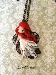 polymer clay Polymer Clay Figures, Cute Polymer Clay, Cute Clay, Polymer Clay Dolls, Polymer Clay Charms, Polymer Clay Projects, Polymer Clay Creations, Clay Crafts, Polymer Clay Jewelry