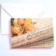 Carte de vœux Tempo di Valse - Fun Music Boutik