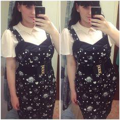 "#allykatswonderland In #DistortedAttitude Dress ""for a date evening with my man"" !! :)"