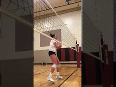 Outside hitter volleyball position. The left side hitter usually receives the most sets during a game and are required to pass well and hit to score points. Volleyball Training, Coaching Volleyball, Youtube, The Outsiders, Basketball Court, Game, Volleyball Workouts, Gaming