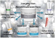 Microderm paste will revitalize your skin! This is a 2+month supply and can be combined in countless ways to repair & maintain!!! Message me