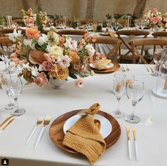 Spice toned wedding table scape, works beautiful for a fall wedding Reception Table, Reception Decorations, Wedding Reception, Table Decorations, Yellow Wedding, Floral Wedding, Wedding Colors, Mustard Wedding, Floral Centerpieces