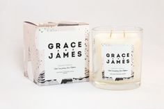 Grace and James Candle Co. by Jack Levitt, via Behance
