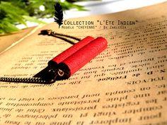 Collection HIVER 2014-2015 / L'Eté Indien de ZAELLEZA / Bracelet CHEYENNE #cuir #eteindien #zaelleza