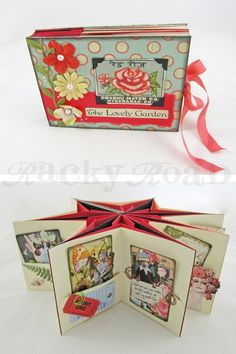 Star books are such a great way to display atcs or photos, and they're not as difficult to make as you might think. Here's how to make a col...