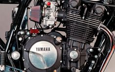 A garage for special motorcycles and cafe racers Custom Motorcycles, Cars And Motorcycles, San Petersburg, Ducati 1000, Xjr 1300, Yamaha Cafe Racer, Motorcycle Engine, Engineering, Passion