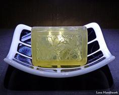 Unscented Natural Honey Bee Bar Soap by LoveHandyWork on Etsy Unscented Soap, Honey Soap, Safflower Oil, Natural Honey, Palm Oil, Gift List, Handmade Soaps, Bar Soap, Fused Glass