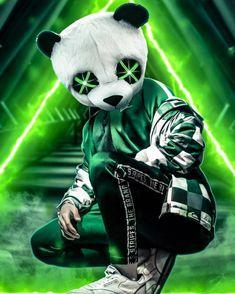 Panda Neon Green wallpaper by AmazingWalls - - Free on ZEDGE™ Cartoon Wallpaper, Joker Iphone Wallpaper, New Wallpaper Hd, Cute Panda Wallpaper, Hacker Wallpaper, Hipster Wallpaper, Graffiti Wallpaper, Wallpaper Gratis, Wallpapers Android
