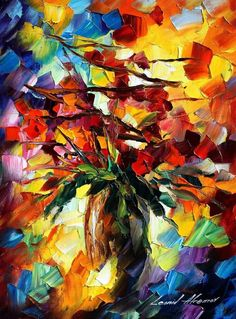 Leonid Afremov - Fall Bouquet
