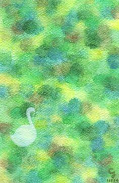 <一個人的快樂> 學會一個人獨處,學會好好傾聽內心的聲音,學會讓自己更快樂,一陣風吹來,我變成一隻優游的天鵝,111114