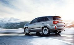 The Kia Sorento keeps you safe and warm in winter.