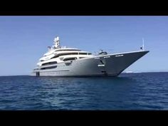 Mega Yacht Ocean Victory By Fincantieri in Fomentera -  #sunshades #yachtingline #girasoleevolution www.yachtingline.it