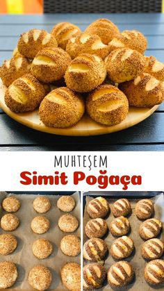 Bread Dough Recipe, Turkish Recipes, How To Make Bread, Food Art, Deserts, Muffin, Cooking Recipes, Baking, Breakfast