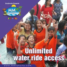 Unlimited #WaterRide access with lot of refreshment and fun at unbeaten price only at #MMFunCity  #WaterPark #Chhattisgarh #Raipur