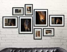 Home Decorating Concepts For Family Room Decoration - Home Decor Ideas Picture Wall Living Room, Girls Room Wall Decor, Personalized Wall Decor, Gallery Wall Layout, Horse Wall Art, Inspiration Wall, Frames On Wall, Collage Picture Frames, Girl Room