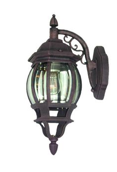 Woodbridge Lighting Outdoor - Basic 1-light Powder Coat Black Outdoor Light