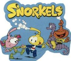 Somos Ochenteros: Series infantiles: Los Snorkels