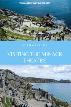 Visit the beautiful open-air Minack theatre in Cornwall, UK, one of the gems of the country #UK #Europe #Cornwall #MinackTheatre