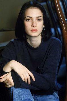 Winona Ryder at 19 …