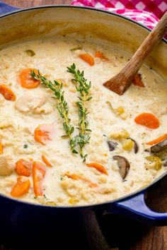 If you aren't making creamy soups when the weather cools down, you're missing the point of autumn.