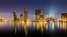 Buy 'Rotterdam Skyline'from Behind The Lenscap on aluminium, canvas or poster print