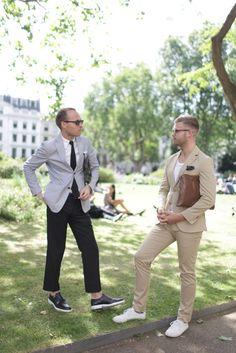 London Men's Fashion Week street style [Photo by Kuba Dabrowski] #sunglasses