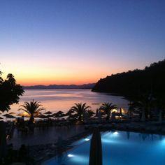 Sunset at Hillside Beach Club - Fethiye, Turkey