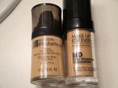 Makeup Forever HD foundation 40$ duped by Revlon colorstay, link for review