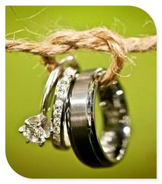 wedding bands  I want a pic like this