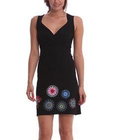 Desigual Negro Estrella Dress