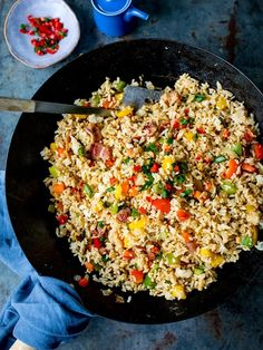 wondered how to make fried rice? Here are my full instructions and tips (plus video) for making perfect fried rice. Rice Recipes, Indian Food Recipes, Asian Recipes, Ethnic Recipes, Recipies, Perfect Fry, Griddle Recipes, Making Fried Rice, Chicken Teriyaki Recipe