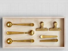 Brass Clips  Brass Clips  A clip for every occasion with these very smart brass creations. With four models to choose from these will set you up for life. Choose your favourite from the drop down list.
