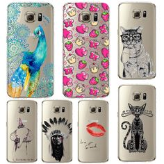 Mobile Phone Bags Cases Phone Case For Samsung Galaxy Beautiful Dandelion  Balloons Peacock Fruit Soft TPU Back Cover Skin Shell Capa Celular This is  an ... 41776d0c2a6a