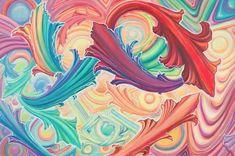 "154 Likes, 8 Comments - Lauren Nova ࿔ paint bender (@lauren.nova) on Instagram: ""I was blessed with a visit by wonderful friends @jonessjonez and @jonohia last night 👽 @jonessjonez…"""